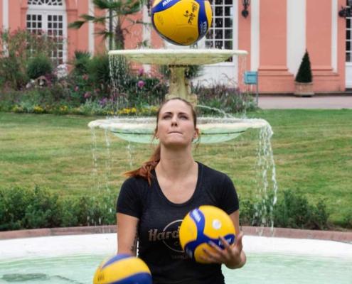 Klara Vyklicka vom VCW bei Schöner hören Wiesbaden